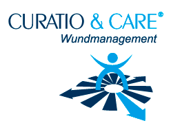 Logo der Marke Curatio & Care Wundmanagement